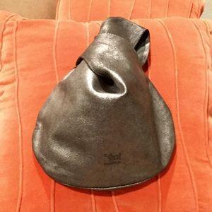"""gal"" clutch metallic bag"